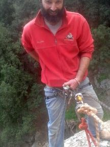 Rappelling in North