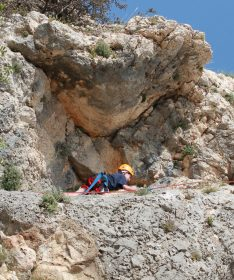 Rock Climbing in Israel