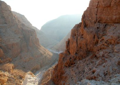 Hiking tour in Israel